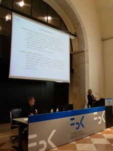 Sara presentation during the DH Workshop in Trento