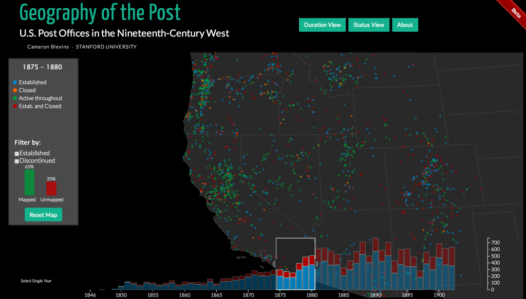 Geography of the Post