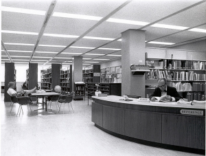 """The Reference Desk"" by CSUF Pollak Library   CC Attribution-NonCommercial-ShareAlike License"